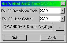 how to change a file to avi